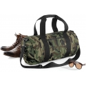BG173 - Camo Barrel Bag