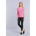 GI4100VL - Premium Cotton Ladies' V-neck T-shirt