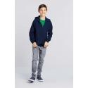 GI18600B - Heavy Blend™classic Fit Youth Full Zip Hooded Sweatshirt