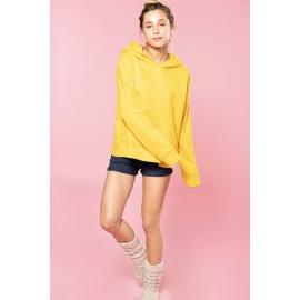 K494 - Damessweater met capuchon Lounge bio