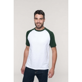 K330 - Baseball - Tweekleurig T-shirt