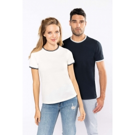 K393 - Dames-t-shirt piqué ronde hals
