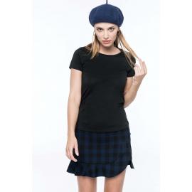 K3001 - Dames-t-shirt Supima® ronde hals korte mouwen