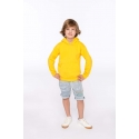 K477 - Kindersweater met capuchon