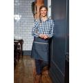PR128 - Domain - Contrast denim waist apron