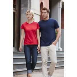 -48% Gildan Premium Cotton® Ring Spun Semi-fitted Ladies' T-shirt