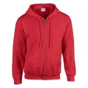 Gildan Heavy Blend™classic Fit Youth Full Zip Hooded Sweatshirt