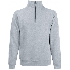 Fruit of the loom Premium Zip Neck Sweat