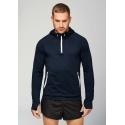 PA360 - Sportsweater met capuchon en halsrits