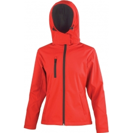 RESULT - R230F - Core Ladies Tx Performance Hooded Soft Shell Jacket
