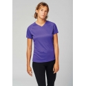 PA477 - Dames sport-t-shirt V-hals