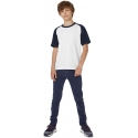 B&C  Kids' Base-ball T-shirt