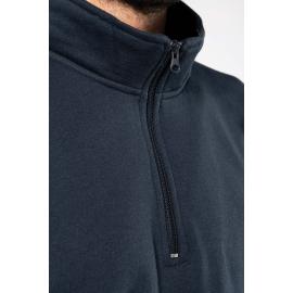 K478 - Sweater met ritshals 280 gr