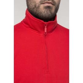 K487 - Sweater met ritshals 300gr