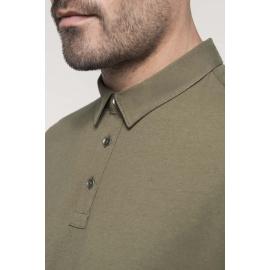 Kariban- Herenpolo korte mouwen van jersey