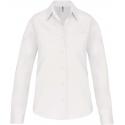 Kariban Dames poplin blouse lange mouwen
