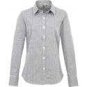 PREMIER Ladies' long sleeve microcheck gingham shirt