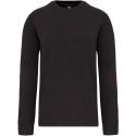 KARIBAN - Sweater ingezette mouwen 300gr