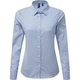 PR352 - Overhemd met grote vichyruiten