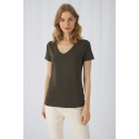 CGTW045 - Organic Cotton Inspire V-neck T-shirt / Woman