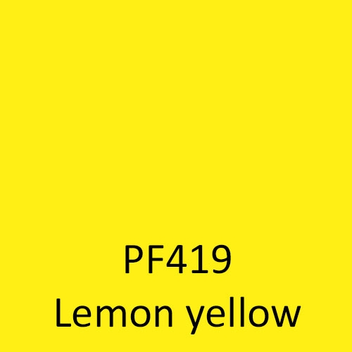 PF419 Lemon yellow