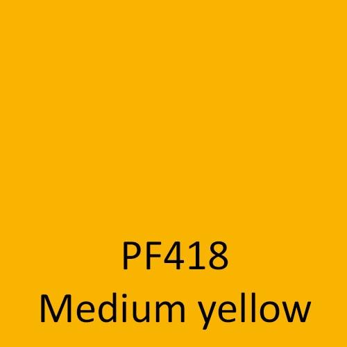 PF418 Medium yellow