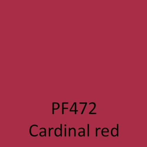 PF472 Cardinal red