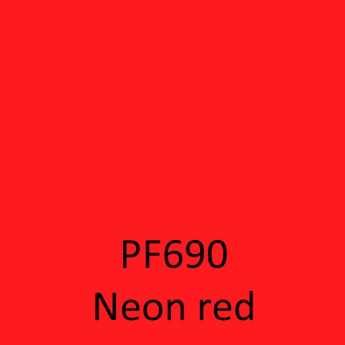 PF690 Neon red