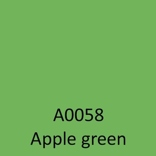a0058 apple green