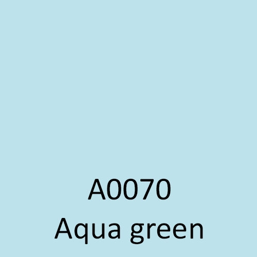 a0070 aqua green