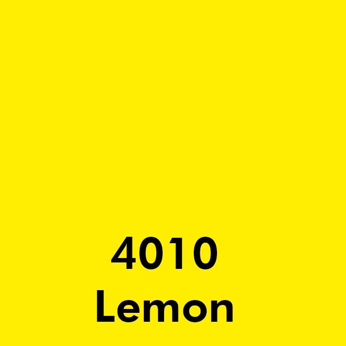4010 Lemon Yellow