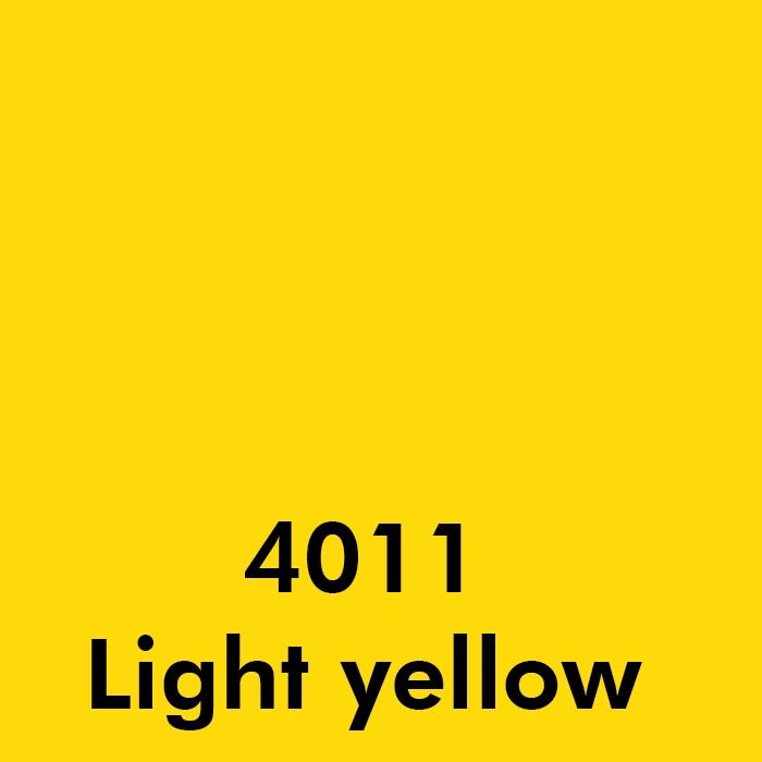 4011 Light yelow