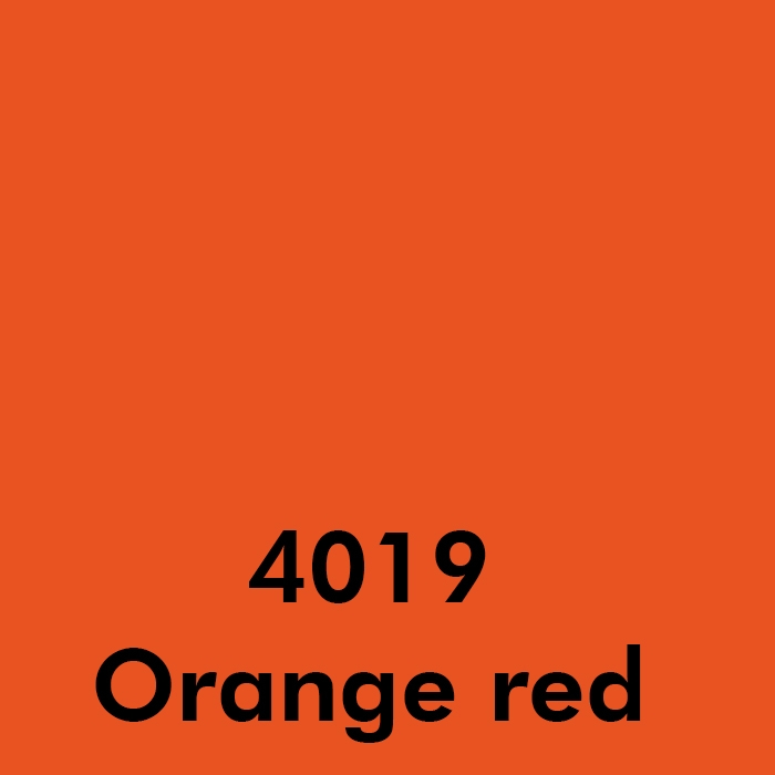 4019 Orange red