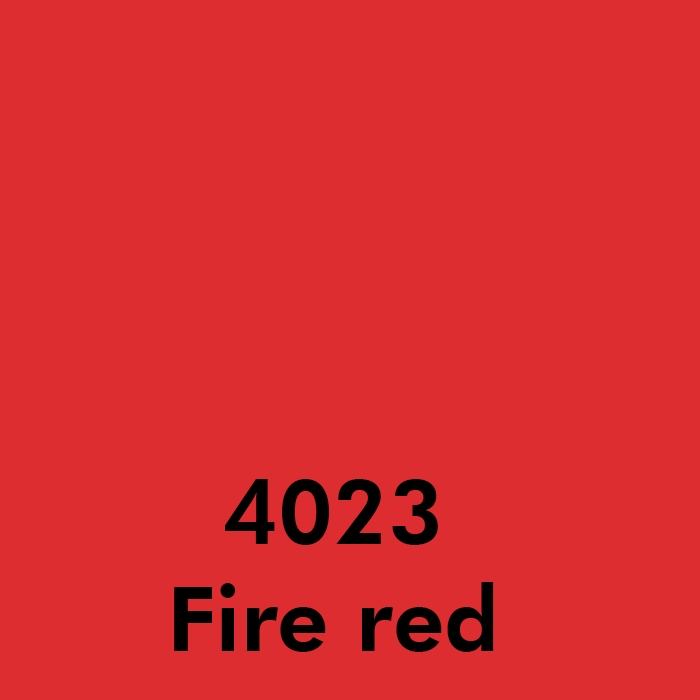 4023 Fire red