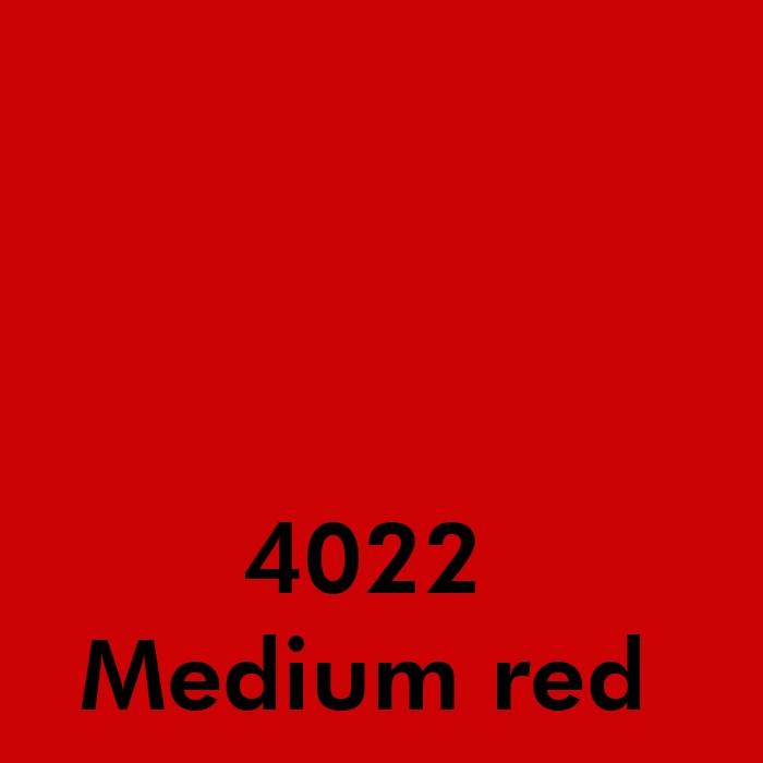 4022 Medium red