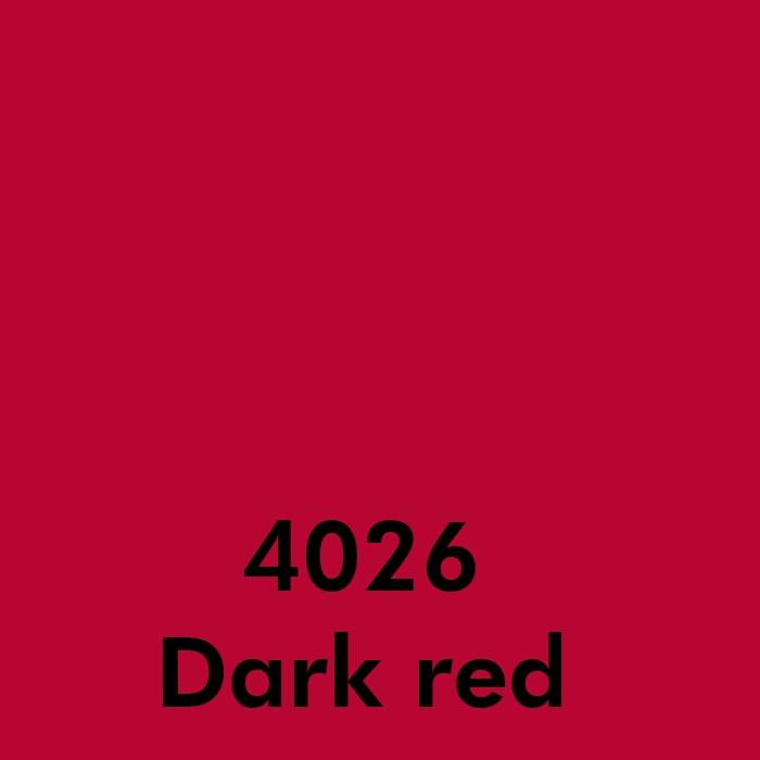 4026 Dark red