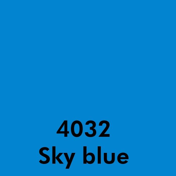4032 Sky blue