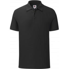 SC63044 - Iconic polo zwart
