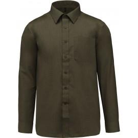 K545 - Jofrey - Herenoverhemd lange mouwen wit