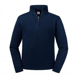 RU270M - Sweater met ritskraag zwart DATUM?