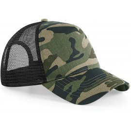 B694 - Camo Snapback Trucker jungle