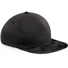 B691 - Snapback black - jungle camo
