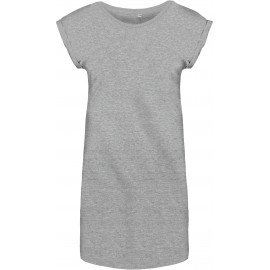 K388 - Lang dames-t-shirt zwart