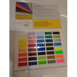 Kleurkaart Poliflex premium