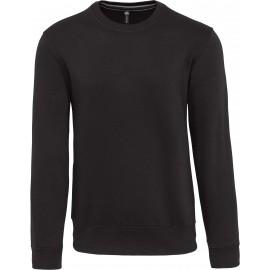 K488 - Sweater ronde hals zwart