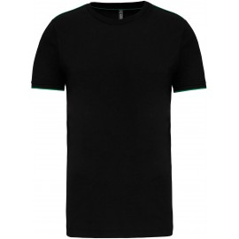 K3020 - T-shirt DayToDay black*kelly green