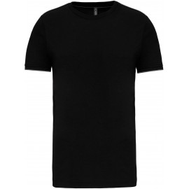 K3020 - T-shirt DayToDay black*silver