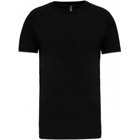 K3020 - T-shirt DayToDay black*yellow