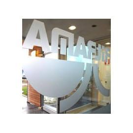 Ritrama PTA etched glass 1.22 meter op 1 meter