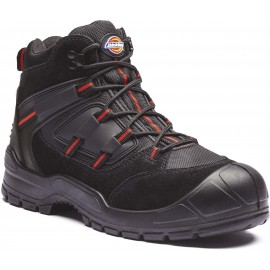 DFA247B - Everyday Boot zwart*rood
